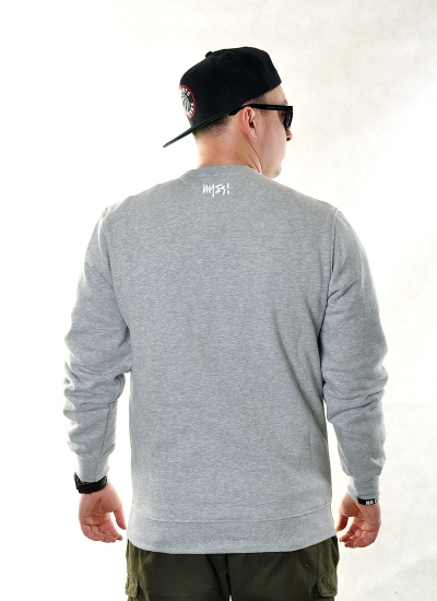 Mass Denim  Signature Crew Gre