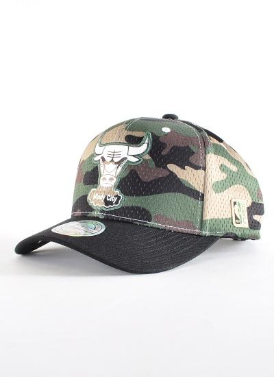 Mitchell & Ness  Mesh Moro 110 Hat Bulls
