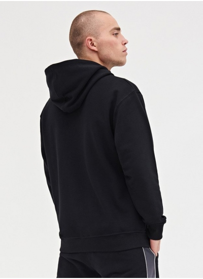 Lucky Dice  Logo Hoodie Blk
