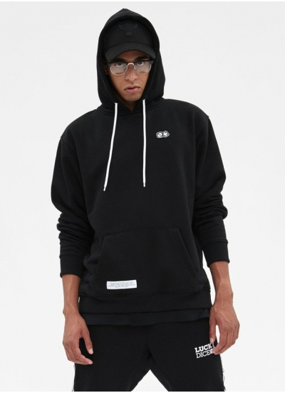 Lucky Dice  Basic Dice Hoodie Blk
