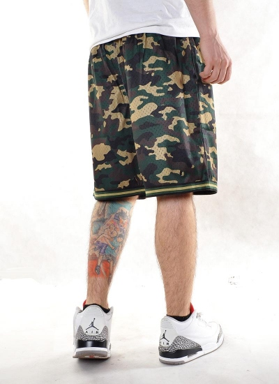 Mitchell & Ness  Camo Mesh Shorts Celtics