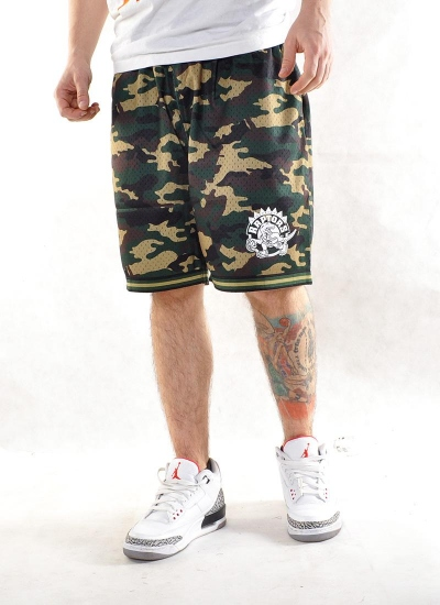 Mitchell & Ness  Camo Mesh Shorts Raptors