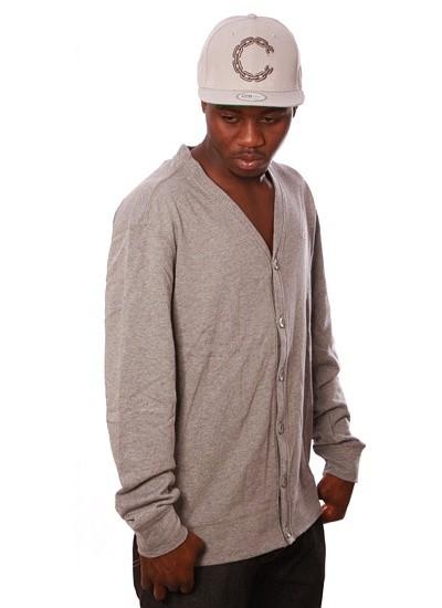 Ecko  Intramural Cardigan Grey