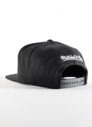 Mitchell & Ness  Solid BW Snapback Lakers
