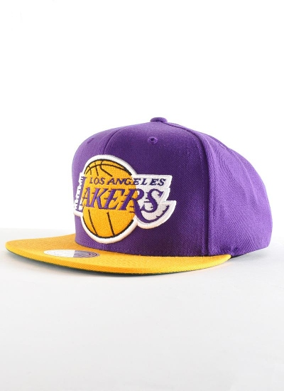 Mitchell & Ness  2Tone Snapback Lakers