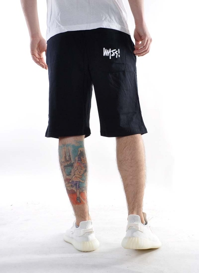 Mass Denim  Signature Shorts Blk