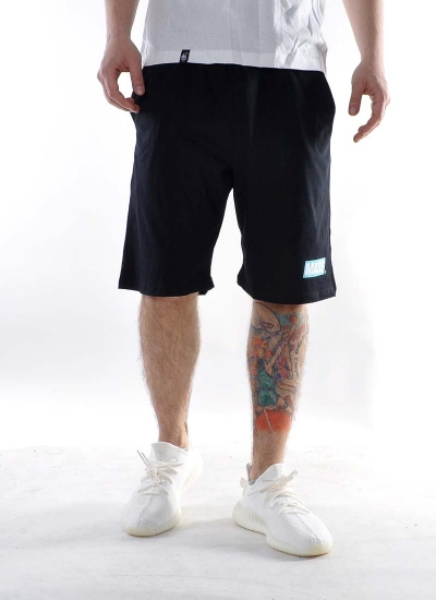 Mass Denim  Big Box Shorts Blk
