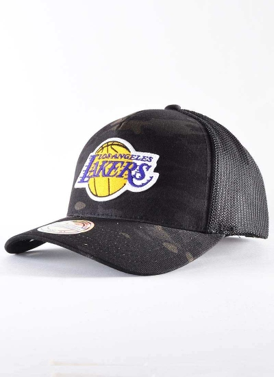 Mitchell & Ness  Multicam 110 Trucker Lakers