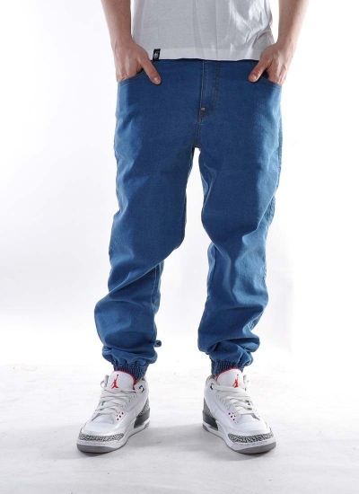 Moro Sport  Base Leather Jogger Jeans Mid