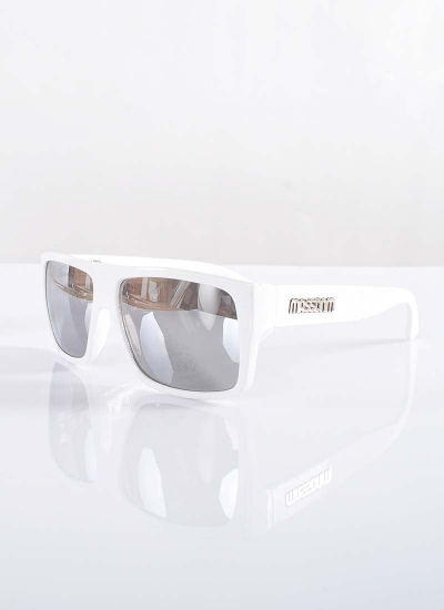 Mass  Icon Okulary White Silver