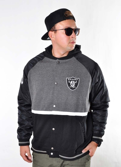 Majestic  Hooded Varsity Oakland GB