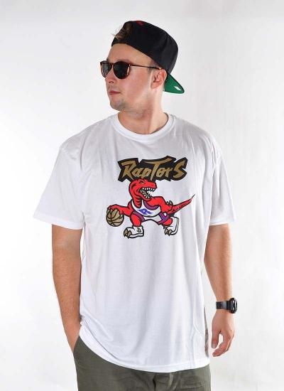 Mitchell & Ness  Gold Dribble Tee Raptors