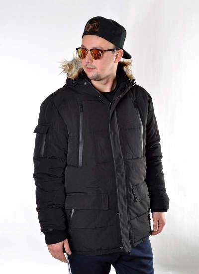 Prosto Klasyk  Long Jacket Blk