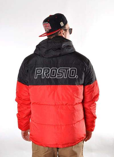 Prosto Klasyk  Adament Jacket Red