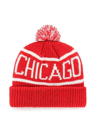 47 Brand  Calgary Knit Blackhawks