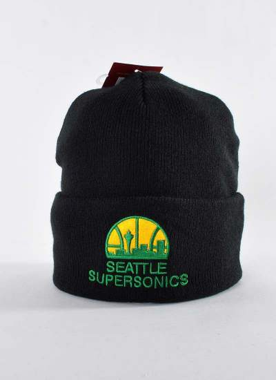 Mitchell & Ness  Team Logo Knit Supersonics