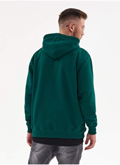 Lucky Dice  Classic Logo Hoodie Grn