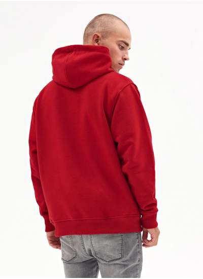 Lucky Dice  Basic Dice Hoodie Red