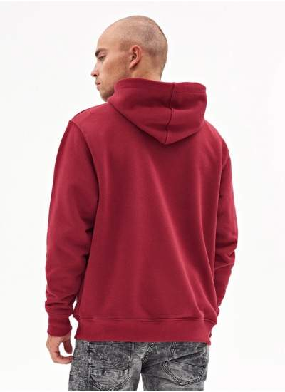 Lucky Dice  Basic Dice Hoodie Ruby