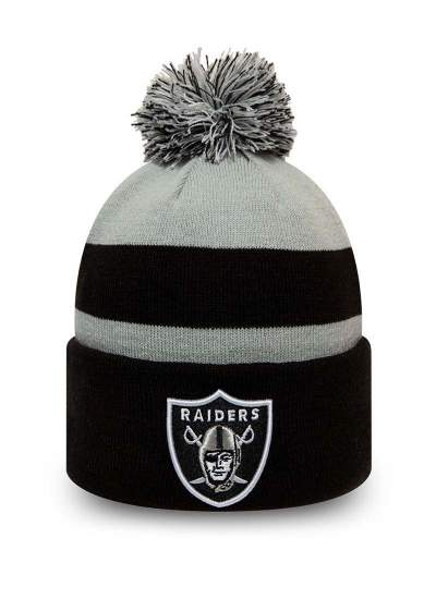 New Era  Striped Knit Raiders