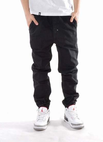Mass Denim  Signature Jogger Jeans Czarne