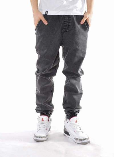 Mass Denim  Signature Jogger Jeans Szare