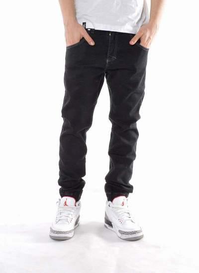 Mass Denim  Base Jogger Jeans Czarne