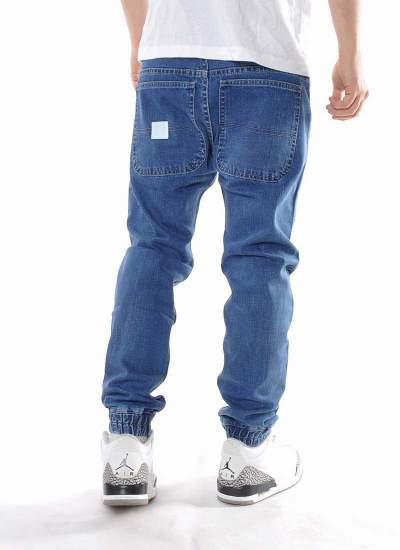 Mass Denim  Base Jogger Jeans Niebieskie