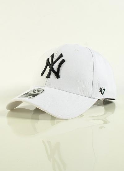 47 Brand  MVP Yankees Wht