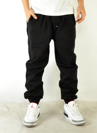 Mass Denim  Signature Jogger Blk