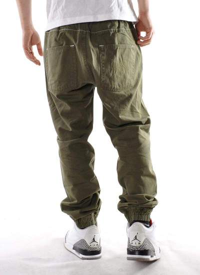 Mass Denim  Signature Jogger Chino Khaki