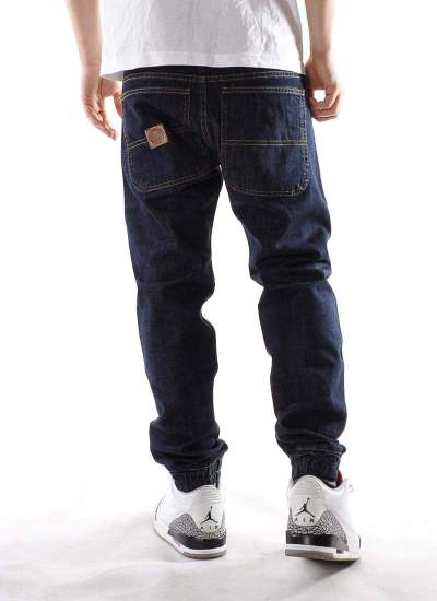 Mass Denim  Base Jogger Jeans Ciemne