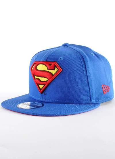 New Era  Superman Logo Snapback niebieska