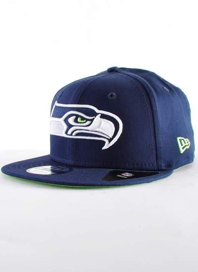 New Era  Seahawks Snapback granatowa