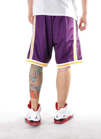 Mitchell & Ness  Big Face Shorts Lakers