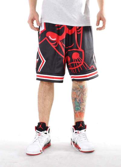 Mitchell & Ness  Big Face Shorts Bulls