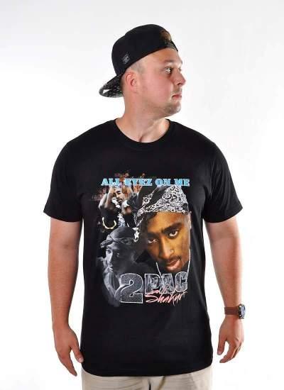Mister Tee Tupac Retro Tee czarna