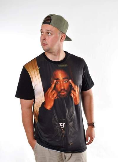 Mister Tee Tupac Trust Nobody Tee czarna
