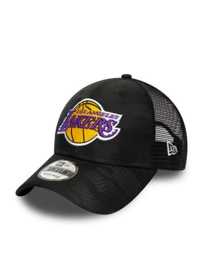New Era  9Forty Camo Trucker Lakers