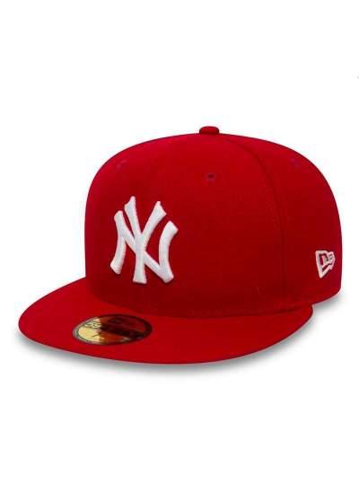 New Era  Basic NY 59Fifty Czerwona