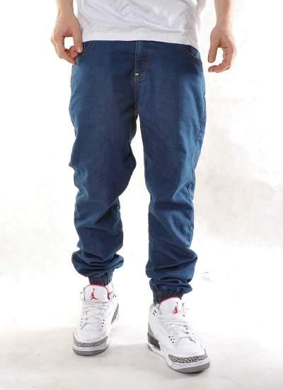 Moro Sport  Base Leather Jogger Jeans Lt