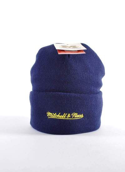 Mitchell & Ness  Team Logo Knit Michigan