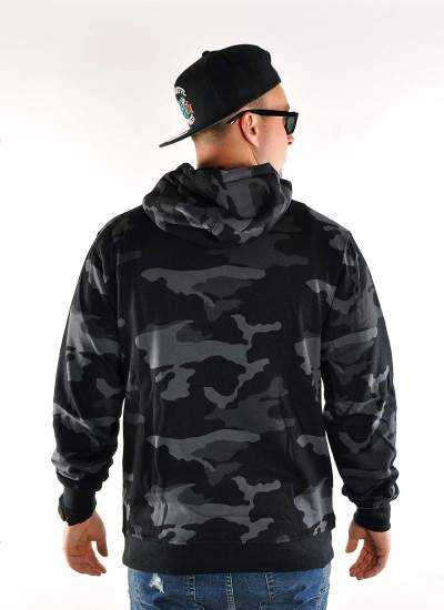 Mass Denim  Base Hoody camo