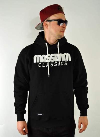 Mass Denim  Classics Hoody czarna