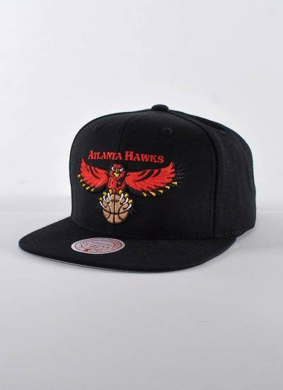 Mitchell & Ness  Wool Solid Hawks