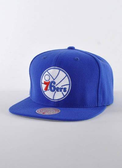Mitchell & Ness  Wool Solid 76ers