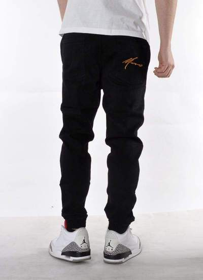 Moro Sport  Gym Paris Jogger Jeans Blk