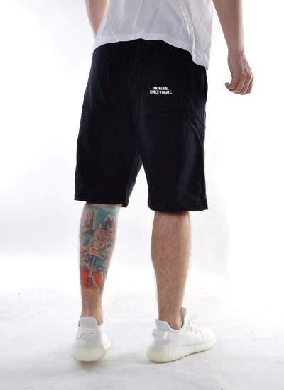 Mass Denim  Base Shorts czarne