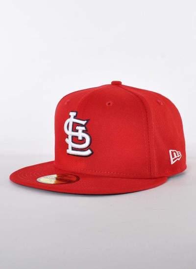 New Era  Basic St Louis 59Fifty Czerwona