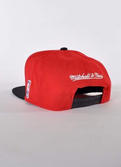 Mitchell & Ness  XL Bulls Snapback czerwona